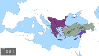 Byzantine Empire under the Doukas dynasty Rule from 1059 to 1081