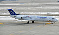 4O-AOT F100 Montenegro Airlines (5461355314).jpg
