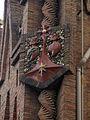 54 Col·legi de les Teresianes, escut de l'orde.jpg