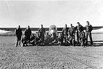 5th Glider Training Detachment - Glider Cadets and a Taylorcraft TG-6A Glider.jpg