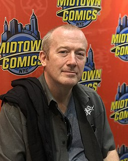 Garth Ennis Northern Irish comics writer