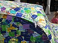 6281 - Luzern - Verkehrshaus - Museum entry stickers on Volkswagen Beetle.JPG