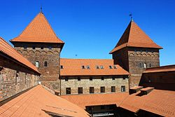 The Teutonic Knights' castle