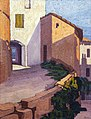 81 - Maisons à Puycelsi - Georges Gaudion - Musée du Pays rabastinois - Inv.2005.2.9.jpg