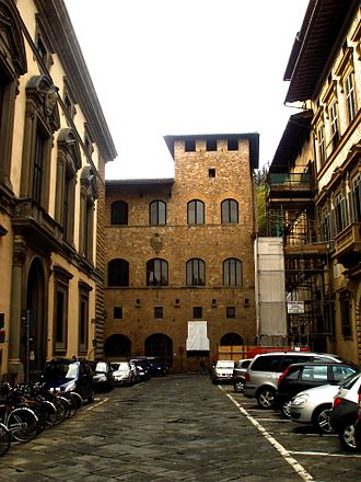 1270s in architecture - Image: 9735 Firenze, Palazzo dei Mozzi Foto Giovanni Dall'Orto, 27 Oct 2007