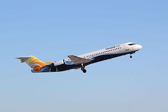 Trade Air - Trade Air Fokker 100