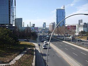 Söğütözü - Image: AŞTİ junction Balgat