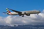 A6-EGT Boeing B777-31HER B77W - UAE (22954608639).jpg