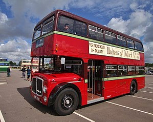 Oxford Bus Company - Preserved 1967 AEC Renown in City of Oxford Motor Services livery
