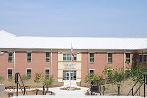 Armed Forces Chaplaincy Center - AFCC, days before official May 6, 2010 dedication