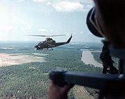 AH-1G Cobra Flight Over Vietnam