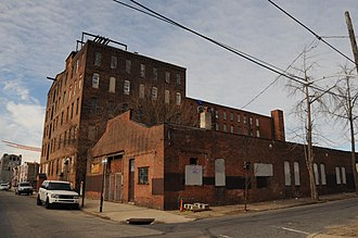 National Register of Historic Places listings in Northeast Philadelphia - Image: ALBION CARPET MILL, NORTHEAST PHILADELPHIA, PA