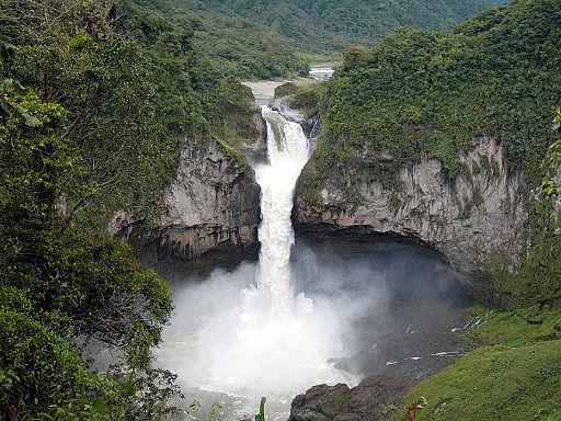 Cascada de San Rafael
