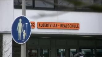 """Winnenden school shooting - """"Albertville"""" Secondary School in Winnenden on 12 March 2009"""