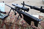 ASVK sniper rifle at Interpolitex-2016 01.jpg