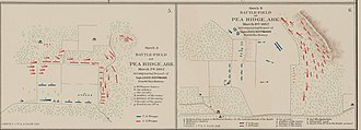 Battle of Pea Ridge - Battle of Pea Ridge (Day 1 and Day 2)