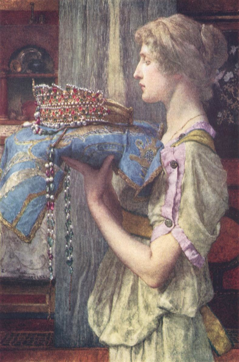 A Crown by Alma-Tadema