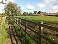 A Fenced Path Toward Draycott - geograph.org.uk - 1330143.jpg