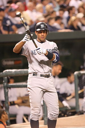 English: Alex Rodriguez.
