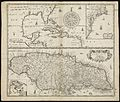A generall mapp of the continent and islands which bee adjacent to Jamaica ; A new mapp of the Island of Jamaica (8642358975).jpg