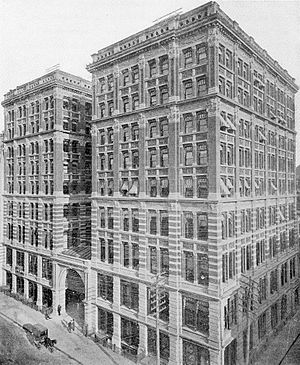 Mills Building (New York City) - Mills Building on Broad Street, New York (1882)