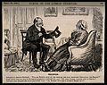 A physician and his female patient talking at cross purposes Wellcome V0011407.jpg