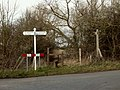 A stile by a footpath to Little Baddow church - geograph.org.uk - 732748.jpg