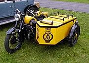 A former AA BSA patrol bike from 1951