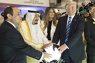 2017 Riyadh summit 2017 U.S.-Saudi diplomatic meeting