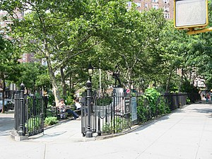 Abingdon Square Park - South Entrance