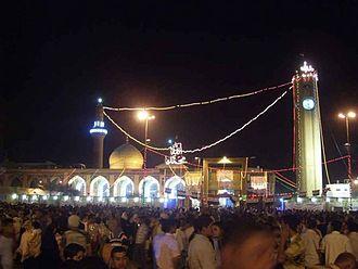 Abu Hanifa - Abu Hanifa Mosque in Baghdad, Iraq