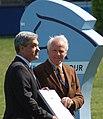 Achaz von Buchwald und Peter Hofmann, Deutsches Spring-Derby 2012.JPG