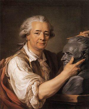 Augustin Pajou - Adélaïde Labille-Guiard - The Sculptor Augustin Pajou