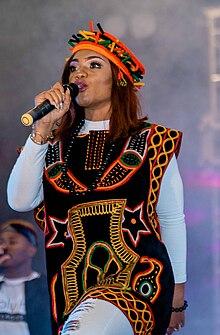 Ada Ehi live in Douala, Cameroon, February 2020
