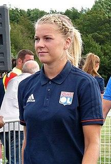 Ada Hegerberg Norwegian footballer
