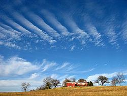 A farm in Adair, Oklahoma
