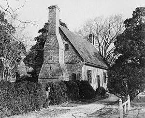 Adam Thoroughgood - Adam Thoroughgood House, ca. 1636, built by Thoroughgood or a descendant