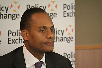 Adam Afriyie - Afriyie at a Policy Exchange meeting, 2013