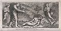 Adam is formed by God. Etching by G.B. Leonetti after C. Cen Wellcome V0034366.jpg