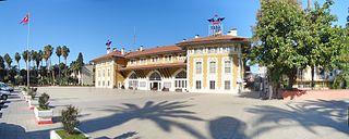 Adana railway station a railway station of Adana, Turkey