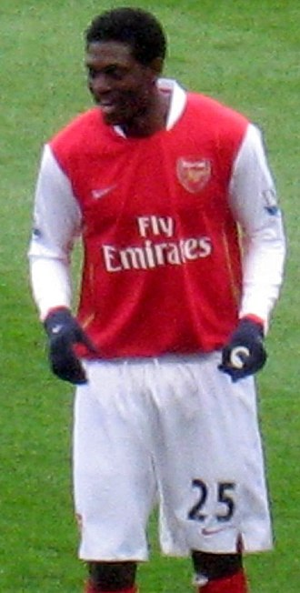 Emmanuel Adebayor - Adebayor with Arsenal