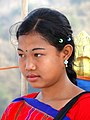 Adivasi (Indigenous) Girl at Dhatu Jadi Temple - Near Bandarban - Chittagong Hill Tracts - Bangladesh (13240409423).jpg