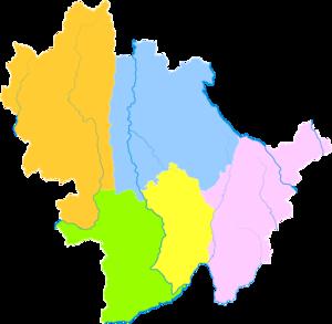 Baoshan, Yunnan - Image: Administrative Division Baoshan