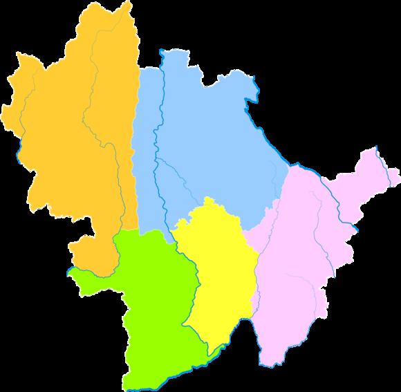 Baoshan Yunnan Wikipedia - Baoshan map