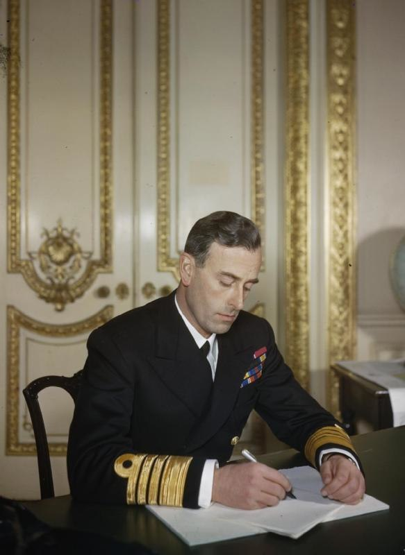 Admiral of the Fleet Earl Mountbatten of Burma TR1228