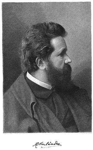 Adolf Oberländer - Etching by Johann Lindner