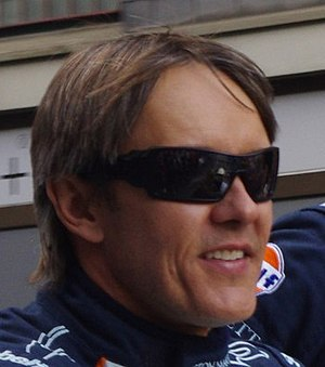 Adrián Fernández - Fernández at the 2011 24 Hours of Le Mans driver parade