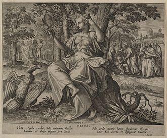 Maerten de Vos - Sight (Visus), from the Five Senses