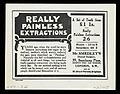 Advert for Mr Smaedley's Dental Surgery Wellcome L0040514.jpg