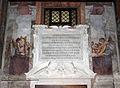 Agostino ciampelli e pietro da cortona, angeli e panoplie in controfacciata 01 iscrizione urbano VIII.JPG